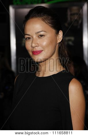 Moon Bloodgood at the Los Angeles Premiere of
