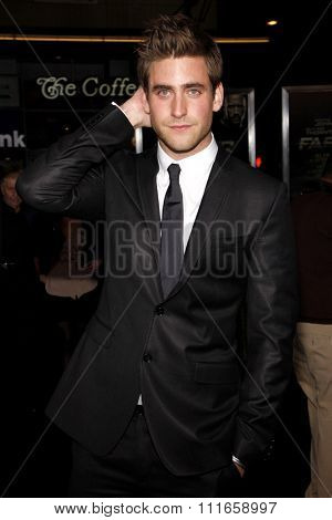 Oliver Jackson-Cohen at the Los Angeles Premiere of