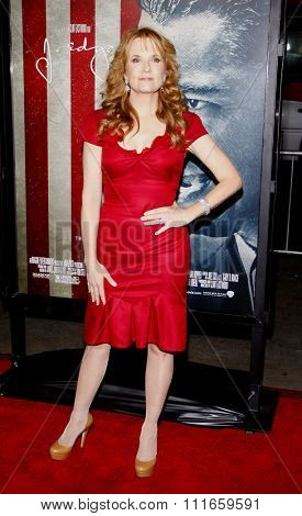 HOLLYWOOD, CALIFORNIA - November 3, 2011. Lea Thompson at the AFI Fest 2011 Opening Night Gala World Premiere Of