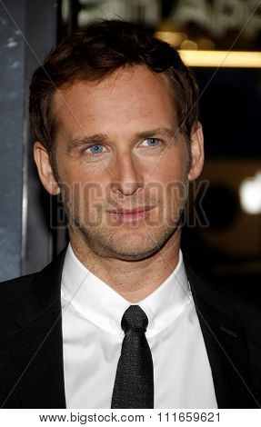 HOLLYWOOD, CALIFORNIA - November 3, 2011. Josh Lucas at the AFI Fest 2011 Opening Night Gala World Premiere Of
