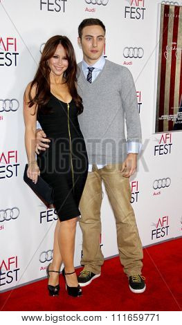 Jennifer Love Hewitt and Jarod Einsohn at the AFI Fest 2011 Opening Night Gala World Premiere Of