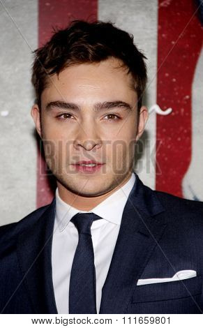 Ed Westwick at the AFI Fest 2011 Opening Night Gala World Premiere Of