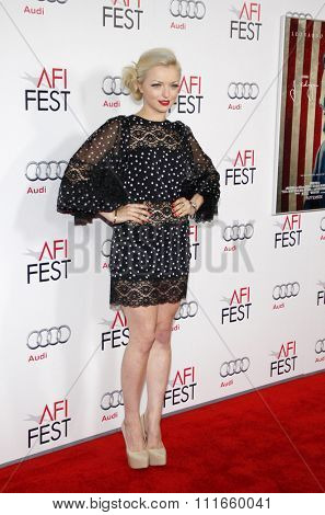 Francesca Eastwood at the AFI Fest 2011 Opening Night Gala World Premiere Of