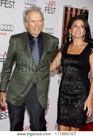 HOLLYWOOD, CALIFORNIA - November 3, 2011. Clint Eastwood at the AFI Fest 2011 Opening Night Gala World Premiere Of