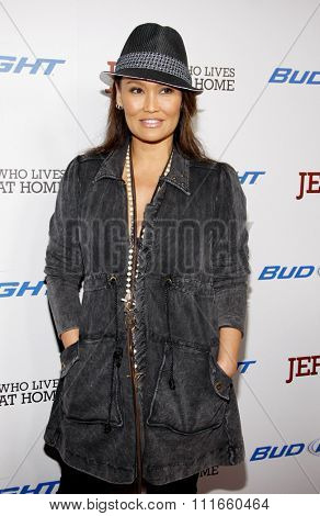 HOLLYWOOD, CALIFORNIA - March 7, 2012. Tia Carrere at the Los Angeles premiere of