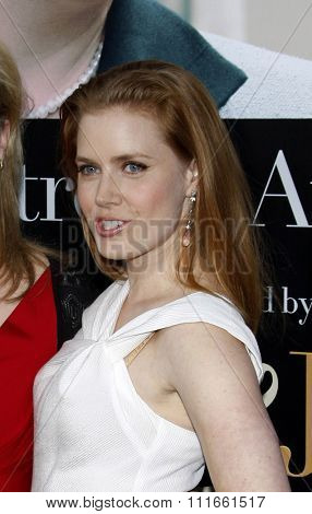 Amy Adams at the Los Angeles screening of