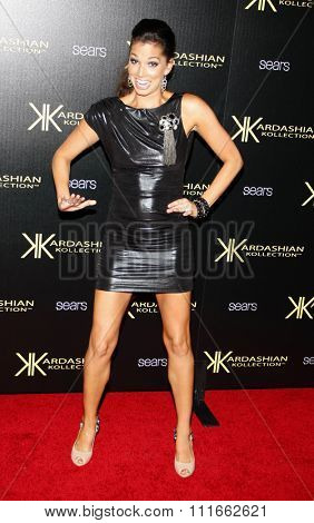 Melissa Rycroft at the Kardashian Kollection Launch Party held at the Colony in Los Angeles, California, United States on August 17, 2011.
