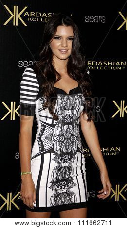 Kendall Jenner at the Kardashian Kollection Launch Party held at the Colony in Los Angeles, California, United States on August 17, 2011.