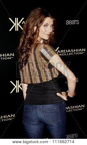 Samantha Harris at the Kardashian Kollection Launch Party held at the Colony in Los Angeles, California, United States on August 17, 2011.
