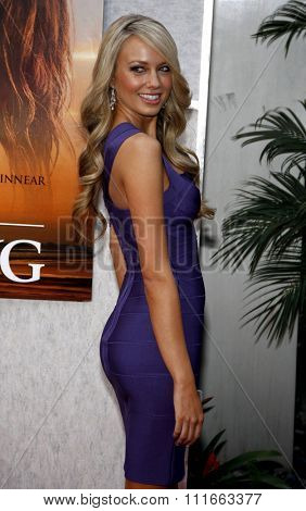Melissa Ordway at the World Premiere of