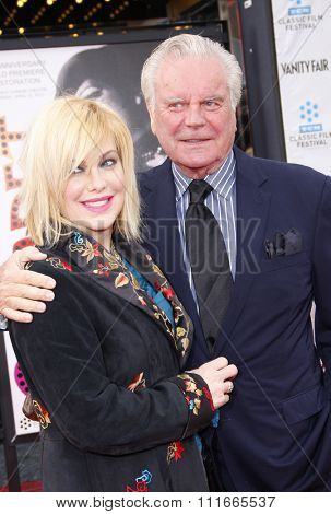 Robert Wagner at the 2012 TCM Classic Film Festival Opening Night Gala held at the Grauman's Chinese Theater, California, United States on April 12, 2012.