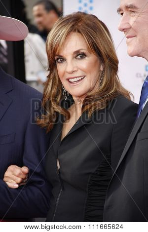 Linda Gray at the 2012 TCM Classic Film Festival Opening Night Gala held at the Grauman's Chinese Theater, California, United States on April 12, 2012.
