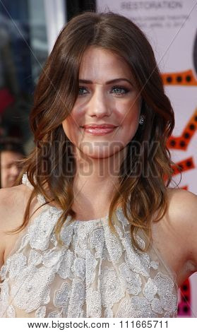 Julie Gonzalo at the 2012 TCM Classic Film Festival Opening Night Gala held at the Grauman's Chinese Theater, California, United States on April 12, 2012.
