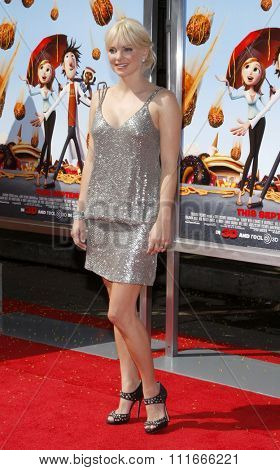 Anna Faris at the Los Angeles Premiere of