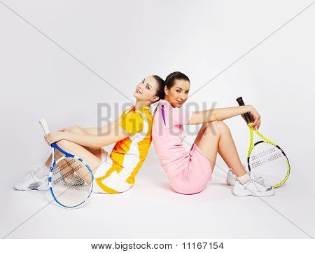 Girls Tennis Players