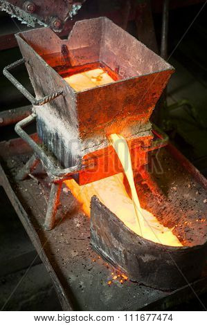 Siberia, Russia - August 13, 2014: Moulting Gold
