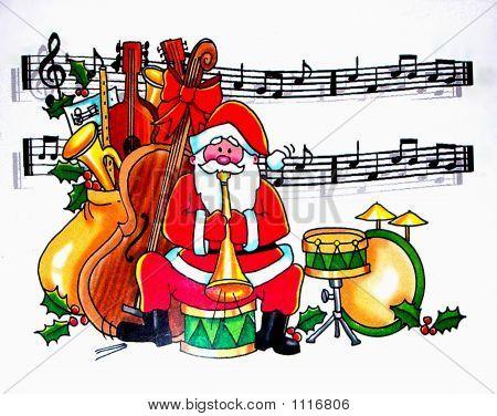 Santa-Karte