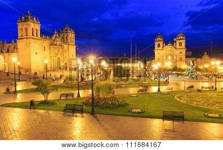 Cusco City Centre Peru South America