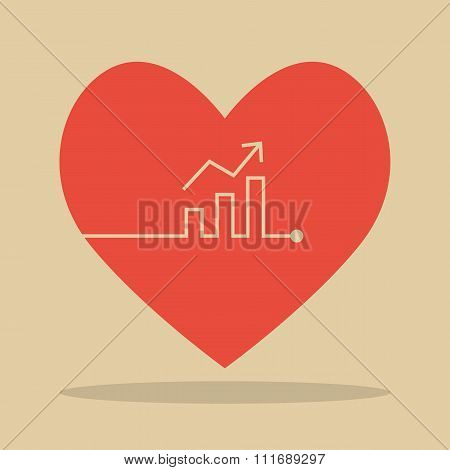 Bar Chart Heartbeat