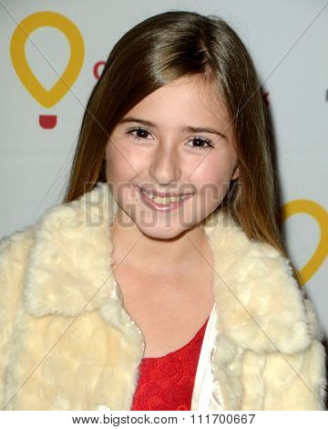 LOS ANGELES - DEC 12:  Hadley Miller at the Childrens Miracle Network Winter Wonderland Ball, at the Avalon Hollywood on December 12, 2015 in Los Angeles, CA