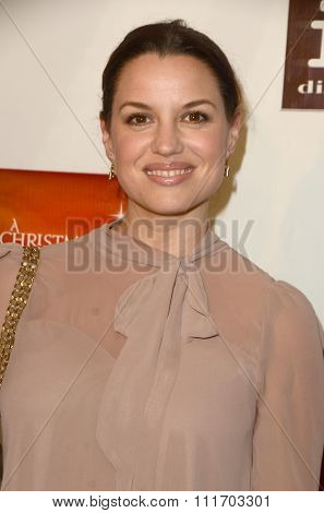 LOS ANGELES - DEC 10:  Caroline Morahan at the A Christmas Star Premiere at the TCL Chinese 6 Theaters on December 10, 2015 in Los Angeles, CA