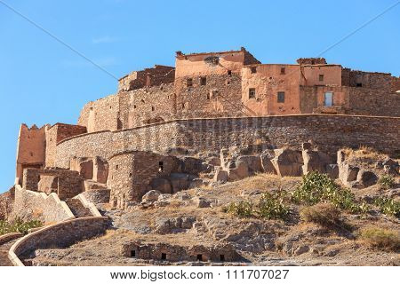 Tizourgane Kasbah,  Anti-Atlas , Southern Morocco.