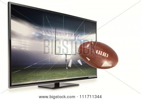american football against american football arena