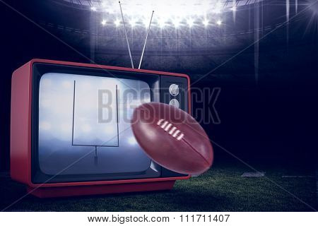 american football against american football arena