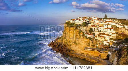 Azenhas do Mar - pictorial village in Atlantic coast of Portugal