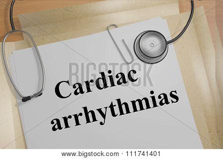 Cardiac Arrhythmias Concept