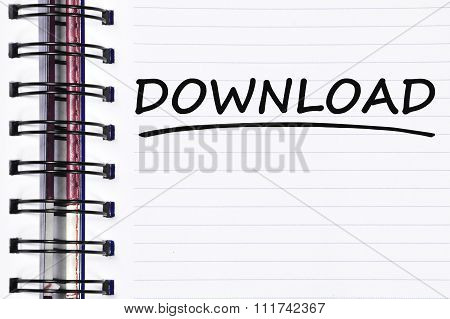 Download Words On Spring Note Book