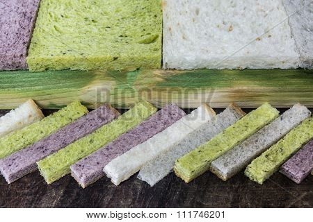 Various Bread Stick