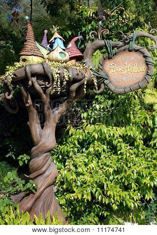 Pixie Hollow In Disneyland California
