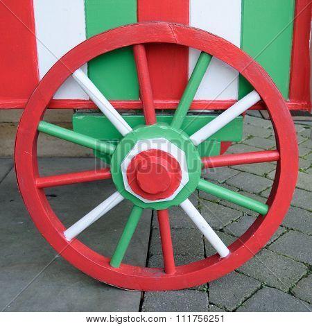 Colourful wheel