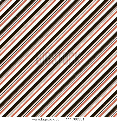 Abstract Seamless Striped Pattern In Black, White, Red Colors