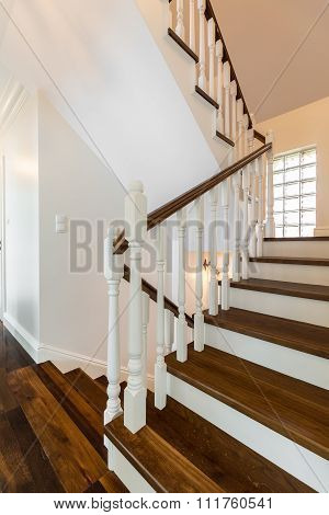 Stairs Of Luxurious Storey House