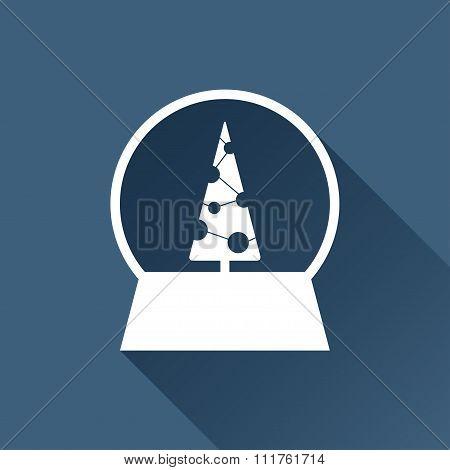 Vector christmas icon.