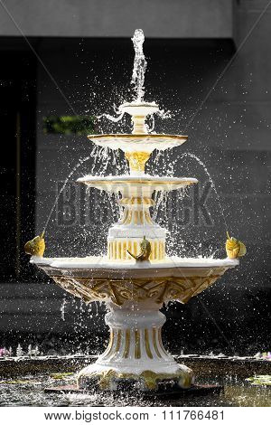Splasing Bright Fountain