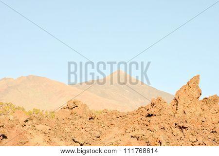 Volcan Basaltic Mountain