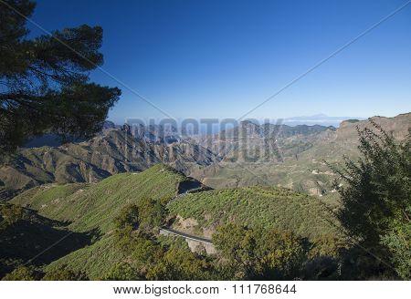 Gran Canaria, Caldera De Tejeda In November