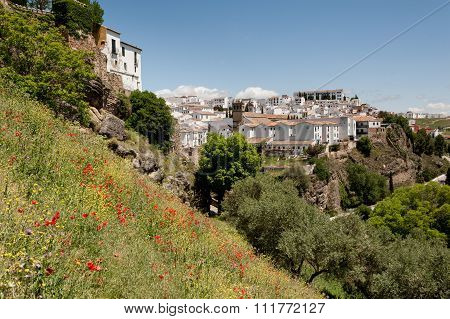 View of Ronda in Spain