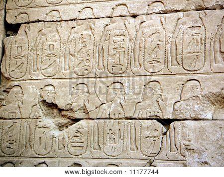 Inscripciones jeroglíficas