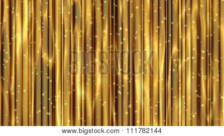 abstract gold background design pattern of vertical lines bright texture  or Christmas card brochure