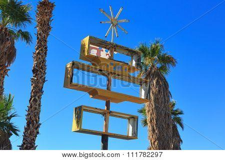 Desert Sign Decay