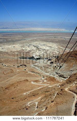 Judaean Desert, Masada, Israel