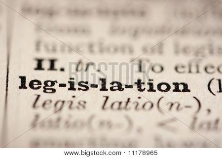 Legislación de la palabra