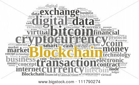 Words Cloud With Blockchain