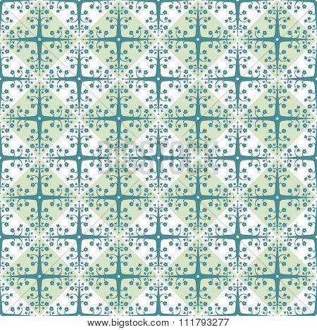 Traditional islamic arabic design seamless patern background. Vector