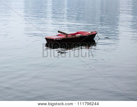 Weathered Row Boat