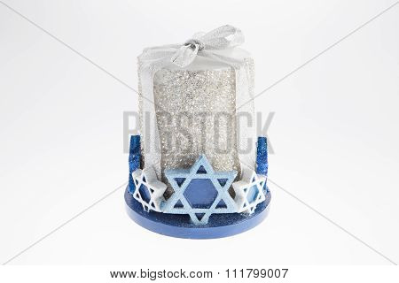 Star Of David Candle